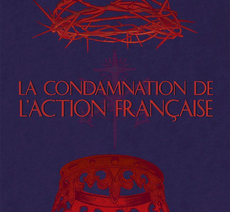 La condamnation de l'Action Française par Philippe Prévost
