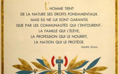 Une réponse aux Droits de l'Homme: les Principes de la Communauté (partie I), par Octave Thibault