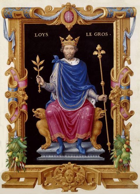 Louis VI et l'abbé Suger